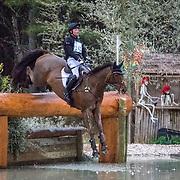 Waylon Roberts (CAN) and Lancaster at the Carolina International Horse Trials in Raeford, North Carolina.