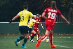 Claire Emslie of Bristol City Women in action - Rogan Thomson/JMP - 06/11/2016 - FOOTBALL - The Northcourt Stadium - Abingdon-on-Thames, England - Oxford United Women v Bristol City Women - FA Women's Super League 2.