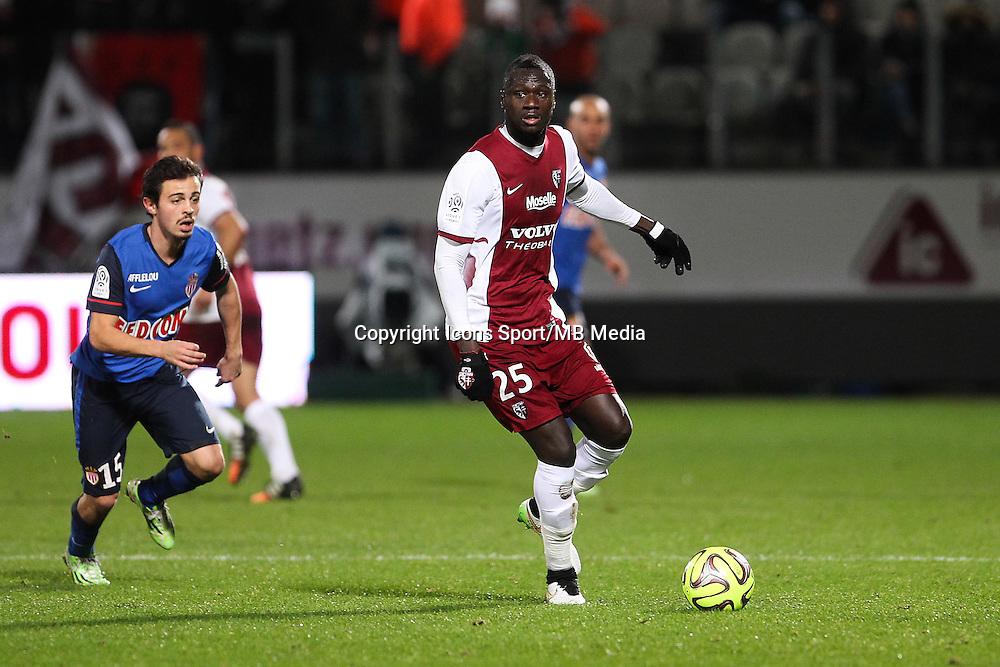 Guirane N'DAW - 20.12.2014 - Metz / Monaco - 17e journee Ligue 2<br />Photo : Fred Marvaux / Icon Sport