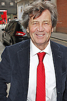 LONDON - April 29: Melvyn Bragg out in London (Photo by Brett D. Cove)