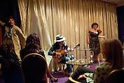 ROBERT PERENO; ADAM ANT; DAISY TALLULAH, Showing of Jubilee. Society film club, Sanctum Soho Hotel. celebrating Robert PerenoÕs birthday and the official launch of The Society Film Club on the Rooftop bar of the Sanctum. -DO NOT ARCHIVE-© Copyright Photograph by Dafydd Jones. 248 Clapham Rd. London SW9 0PZ. Tel 0207 820 0771. www.dafjones.com.<br /> ROBERT PERENO; ADAM ANT; DAISY TALLULAH, Showing of Jubilee. Society film club, Sanctum Soho Hotel. celebrating Robert Pereno's birthday and the official launch of The Society Film Club on the Rooftop bar of the Sanctum. -DO NOT ARCHIVE-© Copyright Photograph by Dafydd Jones. 248 Clapham Rd. London SW9 0PZ. Tel 0207 820 0771. www.dafjones.com.