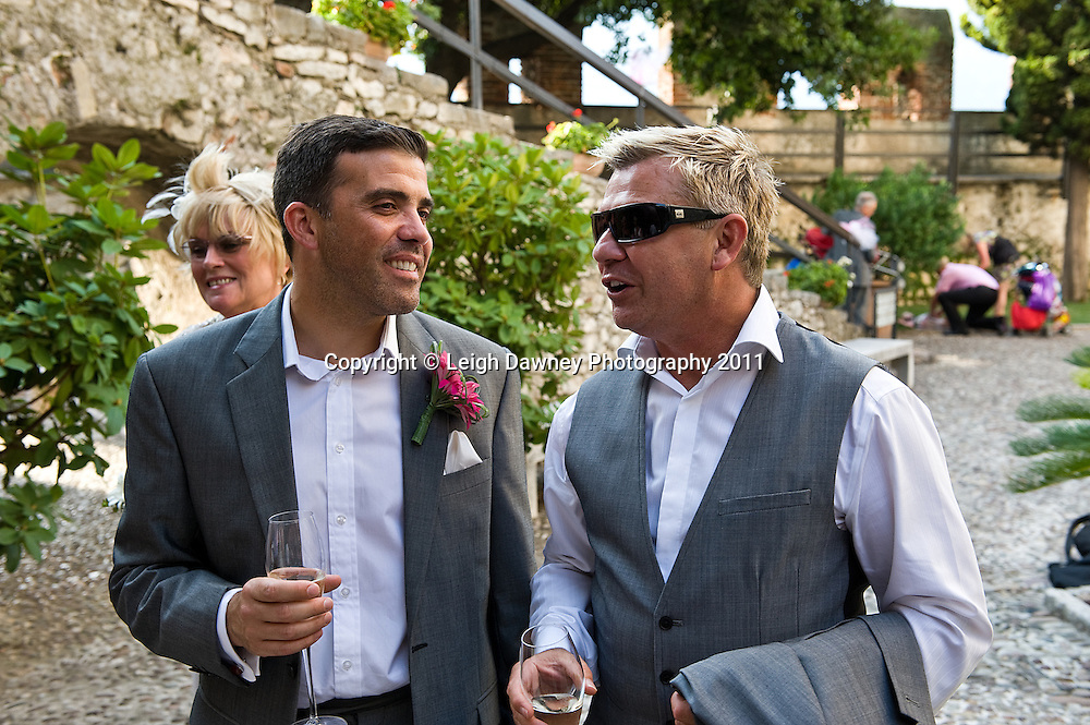 Photographs from the Mark & Jo Gerrard's wedding in Lake Garda, Italy on 24th August 2012. © Photos: Leigh Dawney 2012