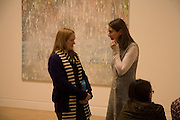 ANNE COLLIER AND TOMMA ABTS, Private view and dinner for the opening of the Peter Doig exhibition. Tate Britain. Millbank. London. 4 February 2008.  *** Local Caption *** -DO NOT ARCHIVE-© Copyright Photograph by Dafydd Jones. 248 Clapham Rd. London SW9 0PZ. Tel 0207 820 0771. www.dafjones.com.