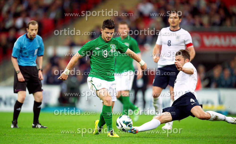 29.05.2013, Wembley Stadion, London, ENG, Testspiel, England vs Irland, im Bild England's xxxx in action against Republic of Ireland during during International Friendly Match between England and Republic of Ireland at the Wembley Stadium, London, United Kingdom on 2013/05/29. EXPA Pictures &copy; 2013, PhotoCredit: EXPA/ Propagandaphoto/ David Rawcliffe<br /> <br /> ***** ATTENTION - OUT OF ENG, GBR, UK *****