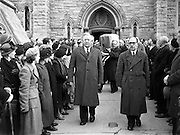 """Maud Gonne McBride's  Funeral - Donnybrook to Glasnevin. <br /> is buried in Glasnevin Cemetery, Dublin.29/04/1953<br /> <br /> Irish revolutionary. Born Edith Maud Gonne on December 21,1866 near Farnham, Surrey, England. <br /> <br /> In 1884, Maud Gonne's father died of typhoid fever, and she received a considerable inheritance. After moving to France to be with her aunt, Gonne met and fell in love with right wing politician Lucien Millevoye. Though he was already married, he instilled Gonne with his political passions. <br /> <br /> Moved by the plight of those evicted in the Land Wars, Maud Gonne continued to campaign for the Irish nationalist cause.<br /> <br /> In 1897, along with Yeats and Arthur Griffith, she organized protests against Queen Victoria's Diamond Jubilee. On Easter 1900, she founded Inghinidhe na hÉireann (""""Daughters of Ireland""""), a revolutionary women's society, to provide a home for Irish nationalist women who, like herself, were considered unwelcome in male-dominated nationalist societies. In April 1902, she took a leading role in Yeats's play Cathleen Ní Houlihan. <br /> Maud married Major John MacBride in Paris in 1903. The following year, their son, Seán MacBride, was born. John MacBride was a veteran who had led the Irish Transvaal Brigade against the British in the Second Boer War. MacBride was executed in May 1916 along with James Connolly and other leaders of the Easter Rising.<br /> <br /> In 1918, Maud Gonne was arrested for being a political agitator. She became severely ill in prison and after her release, she began a crusade for improved conditions for Ireland's political prisoners. <br /> Sean MacBride, was active in politics and was awarded the Nobel Peace Prize in 1974. Maud Gonne's autobiography, A Servant of the Queen, was published in 1938.<br /> She died in Clonskeagh, aged 86 and is buried in Glasnevin Cemetery, Dublin."""
