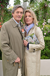 NIGEL HAVERS and his wife GEORGIANA  at the 2015 RHS Chelsea Flower Show at the Royal Hospital Chelsea, London on 18th May 2015.