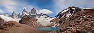 Laguna de los tres. Patagonia, Argentina