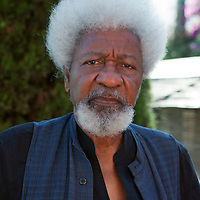 "Nigerian writer Wole Soyinka at ""Le Conversazioni"" on Capri<br /> Photographed on 7th July, 2012<br /> <br /> Picture by Steve Bisgrove/Writer Pictures<br /> <br /> WORLD RIGHTS"