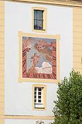 Sonnenuhr, Passau, Bayerischer Wald, Bayern, Deutschland | sun dial, Passau, Bavarian Forest, Bavaria, Germany