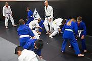 Royce Gracie during a jiu-jitsu lesson at US Blackbelt Academy on Thursday, March 26, 2015 in Laguna Niguel, Calif. (Photo/Josh Barber)