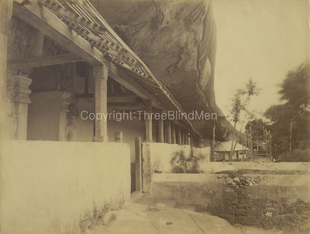 Dambulla Temple.<br /> Skeen &amp; Co. Photographs of the historical sites of Ceylon.