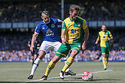 Ivo Pinto (Norwich City) during the Barclays Premier League match between Everton and Norwich City at Goodison Park, Liverpool, England on 15 May 2016. Photo by Mark P Doherty.