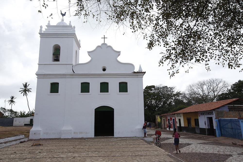 Alcantara_MA, Brasil.<br /> <br /> Na foto, a Igreja do Rosario dos Pretos em Alcantara, Maranhao.<br /> <br /> Rosario dos Pretos church in Alcantara, Maranhao.<br /> <br /> Foto: LEO DRUMOND / NITRO