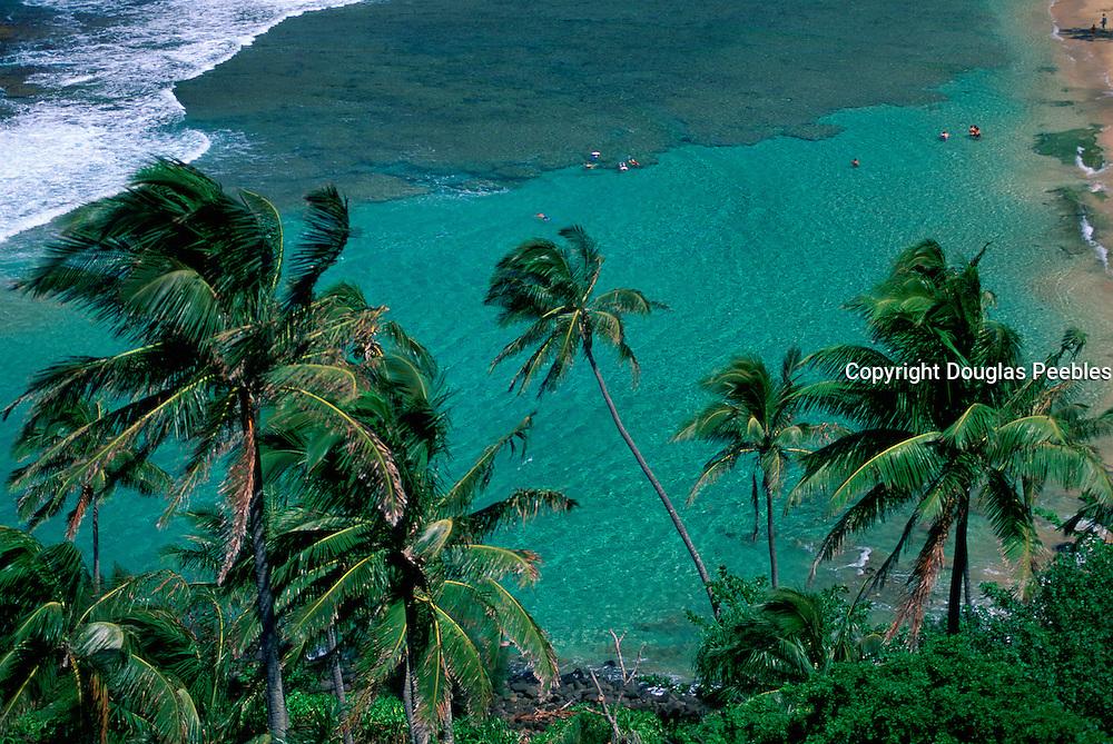 Ke'e Beach, Napali Coast, Kauai, Hawaii, USA<br />