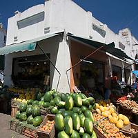 Fruit for sale in the medina, Tetouan, Morocco