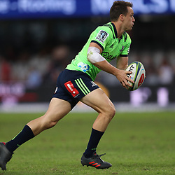 DURBAN, SOUTH AFRICA - MAY 05: Ben Smith (cc) of the Pulse Energy Highlanders during the Super Rugby match between Cell C Sharks and Highlanders at Jonsson Kings Park Stadium on May 05, 2018 in Durban, South Africa. (Photo by Steve Haag/Gallo Images)