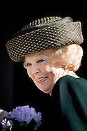 THE HAGUE - Princess Beatrix at the opening of the exhibition Held at Base in The Hague Historical Museum. COPYRIGHT ROBI UTRECHT <br /> DEN HAAG - Prinses Beatrix tijdens de opening van de tentoonstelling Held op Sokkel in het Haags Historisch Museum.