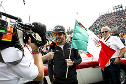 October 28, 2018 - Mexico-City, Mexico - Motorsports: FIA Formula One World Championship 2018, Grand Prix of Mexico, ..#14 Fernando Alonso (ESP, McLaren F1 Team) (Credit Image: © Hoch Zwei via ZUMA Wire)