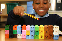 maths at Grinling Gibbons school, Deptford<br />