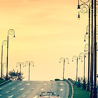 Where: Havana, Cuba.<br /> Why the two classic title? Simply the classic car and beautiful sunset. <br /> Obviously no traffic congestion here :)