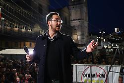 FEDERICO BALBONI<br /> COMIZIO MOVIMENTO 5 STELLE PIAZZA TRENTO TRIESTE