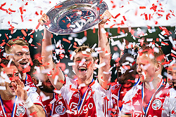 15-05-2019 NED: De Graafschap - Ajax, Doetinchem<br /> Round 34 / It wasn't really exciting anymore, but after the match against De Graafschap (1-4) it is official: Ajax is champion of the Netherlands / Frenkie de Jong #21 of Ajax