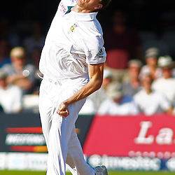 19/08/2012 London, England. South Africa's Morne Morkel bowling during the third Investec cricket international test match between England and South Africa, played at the Lords Cricket Ground: Mandatory credit: Mitchell Gunn