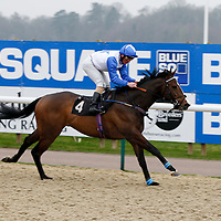 Jimmy The Snooze and Andrea Atzeni winning the 3.00 race