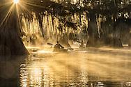 USA, Louisiana, Jefferson Parish,St.Martinville, Lake Fausse