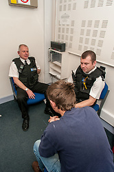 South Yorkshire Police interview white male suspect