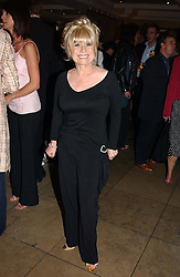 Actress BARBARA WINDSOR at a party to celebrate the publication of Dot.Homme by Jane Moore held at Embassy Club, Old Compton Street, London on 14th July 2004.