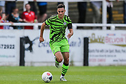 Forest Green Rovers Aaron Collins(10) runs forward during the Pre-Season Friendly match between Bath City and Forest Green Rovers at Twerton Park, Bath, United Kingdom on 27 July 2019.