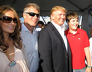 Melania Trump, Richard Johnson, Donald and Melania Trump with Richard's son..Mercedes-Benz Challenge Cup.Bridgehampton Polo.Bridgehampton Polo Club, Hayground Road, Water Mill, NY, USA.Saturday, August 18, 2007.Photo By Celebrityvibe.com.To license this image please call (212) 410. 5354; or.Email: celebrityvibe@gmail.com ;.