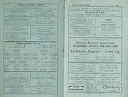 Official GAA Munster Senior Gaelic Football Tipperary v Cork Semi-Final Championship brochure. 10th July 1949. Kehoe's Bar 50 Parnell Street, Clonmel, ..Magner's Sports Orange, ..J Mulcahy and Co 46 and 47 Gladstone St, Clonmel,..John Aylward, Wholesale Merchant, 7 Mitchel St, Clonmel, ..Quinns Grocer, 29 and 30 O'Connell Street, Clonmel, ..Duffy's, Main Guard,.Mick Strappe, 3 Mitchel Street, ..Roche and Kennedy LTD, Dillon Street, Clonmel, ..Andrew O'Mahoney, 25-26 Irishtown, Clonmel, ..Tobin and Power, 49 Gladstone St, Clonmel,..David Roche, 58 O'Connell St, Clonmel, .J Richards, 37 and 38 O'Connell St,.Downey's 46 and 47 Irishtown , Clonmel, .Waldron's, O'Connell St,..Mary Fitzpatrick, Western Road, Clonmel, ..Purcell's Prams, .Dick Walls, 108 Irishtown, Clonmel,