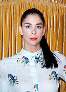 Sarah Silverman attends the Alice + Olivia presentation during the Mercedes-Benz Fall/Winter 2015 shows at the Prince George Ballroom in New York City, New York on February 16, 2015.