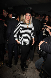 DAVINA HARBORD at the launch party for the new nightclub Public at 533 Kings Road, London on 2nd December 2010.