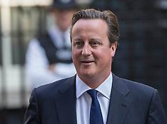 SEP 04 2013 David Cameron leaves for PMQs