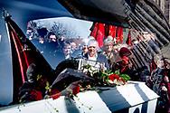 Tidligere statsminister Anker Jørgensens (S) bisættelse.