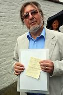 ©www.agencepeps.be/ F.Andrieu- A.Rolland / Imagebuzz.be  - Belgique - Néchin - 130824 - Gerard Depardieu a fait un barbecue à sa villa White Cloud de Néchin, il a invité ses amis et voisins. Il a reçu le titre de citoyen d'honneur de sa commune où il a été reçu par le maire.