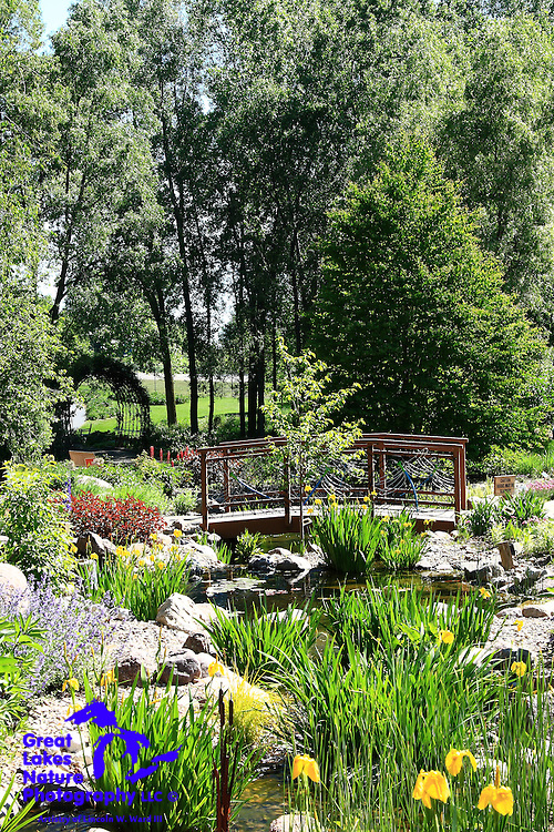 One in a series of image captures from Spring 2010 of Green Bay Botanical Garden, one of the premier gardens in the Midwest.