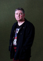Darren Shan is an Irish author<br /> Edinburgh International Book Festival 2014 photos taken in Charlotte Square Gardens. Edinburgh. Pako Mera 11/08/2014