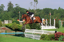 Ledermann Alexandra (FRA) - Rochet M<br /> Nations Cup Hickstead 1999<br /> Photo © Dirk Caremans