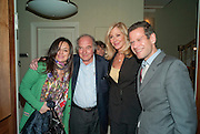 ILONA RICH; MARC RICH; DARA SOWELL; KENNHY SCHACTER, Dinner hosted by Denise Estfandi, for the Council of the Serpentine Gallery to celebrate the opening of  Nancy Spero at the Serpentine Gallery. London.  Upper Brook house. 10a upper brook st.1 March 2011. -DO NOT ARCHIVE-© Copyright Photograph by Dafydd Jones. 248 Clapham Rd. London SW9 0PZ. Tel 0207 820 0771. www.dafjones.com.