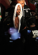 LAS VEGAS, NV - JUNE 09:  Timothy Bradley enters the ring before his fight against Manny Pacquiao at MGM Grand Garden Arena on June 9, 2012 in Las Vegas, Nevada.  (Photo by Jeff Bottari/Getty Images)