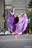 Dance As Art The New York City Photography Project Park Avenue Series with dancer Mykaila Symes.