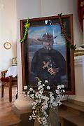 Father Damien, St. Francis Church, Kalaupapa Town, Kalaupapa Peninsula, Molokai, Hawaii