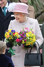 MAR 31 2013 Royal Family at Easter Day service at Windsor Castle