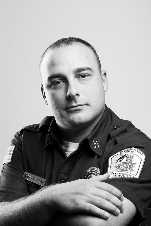 Joseph S. Legg<br /> Air Force<br /> E-4<br /> Firefighter, Medic<br /> Jan. 2006 - Jan. 2010<br /> OIF<br /> <br /> Veterans Portrait Project<br /> Fayetteville, NC
