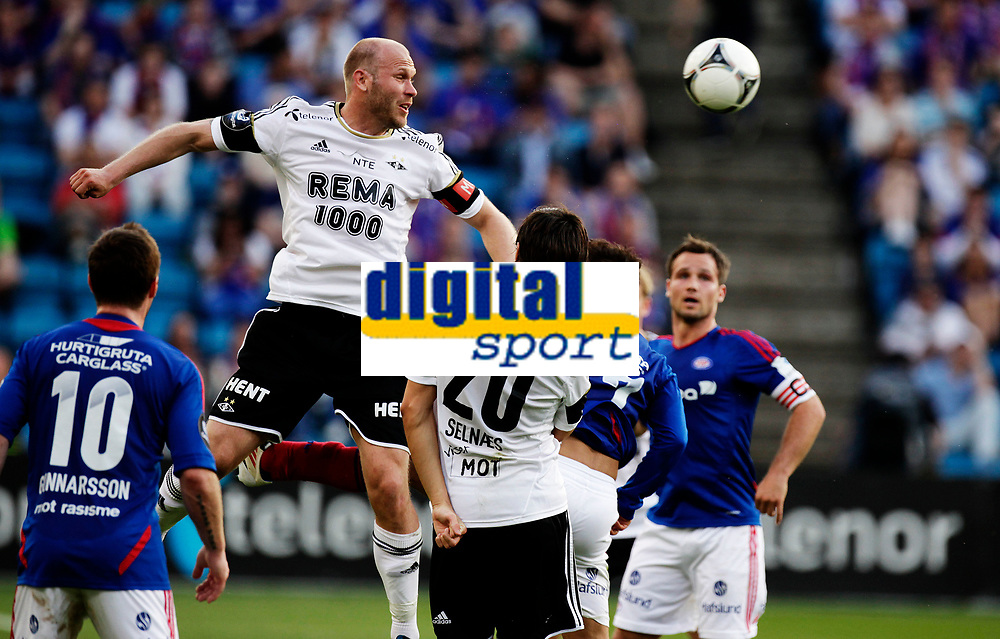 Fotball<br /> Tippeligaen<br /> Ullev&aring;l Stadion 23.05.12<br /> V&aring;lerenga VIF - Rosenborg RBK<br /> <br /> Michael Dorsin rager<br /> <br /> Foto: Eirik F&oslash;rde