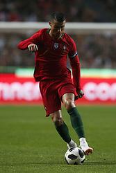 June 7, 2018 - Lisbon, Portugal - Portugal's forward Cristiano Ronaldo  in action  during the FIFA World Cup Russia 2018 preparation match between Portugal vs Algeria in Lisbon on June 7, 2018. (Credit Image: © Carlos Palma/NurPhoto via ZUMA Press)